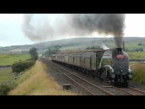 LNER A4 60009 on The Cumbrian Mountain Express on the 4/8/12