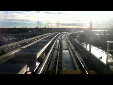 Vancouver SkyTrain - Canada Line *Time Lapse* (Waterfront to YVR Airport)