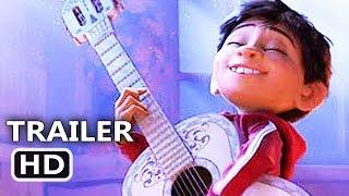 COCO Official Trailer (2017) Disney Pixar Animation Movie HD