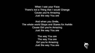 Bruno Mars - Just the Way you Are ♥ With Lyrics