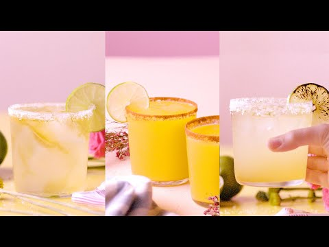 MAGNIFICENT MARGARITAS! Your Favorite Drink in 3 Different Ways!