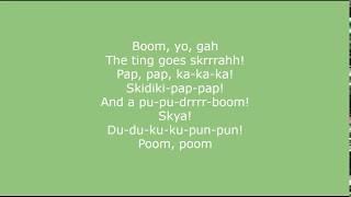 Man's Not Hot   Big Shaq Lyrics //The Ting Goes Skrrah Lyric