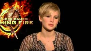 "Jennifer Lawrence Talks ""Hunger Games: Catching Fire"""