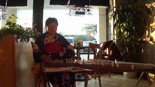 Koto Music Play at Momotaro Japanese Restaurant