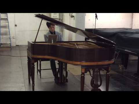 Chickering Petite Grand Piano Performance