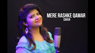 Mere Rashke Qamar cover by DIVYAA | hindi HD music video | SM Studio