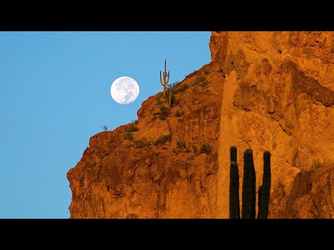 Superstition Mountains, Arizona, USA in 4K Ultra HD