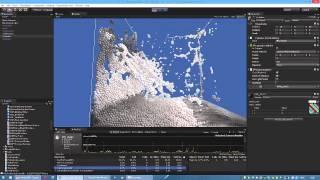PBF Position Based Fluids DX11 Direct Compute  Unity3D Test