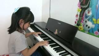 Valia Valenscia - Piano Forte 1 Yamaha Music School (Beat Drums)
