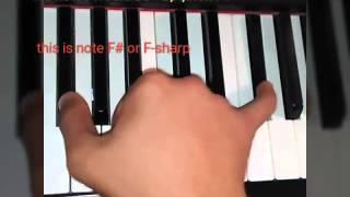 Cage the Elephant-cigarette daydream piano lesson