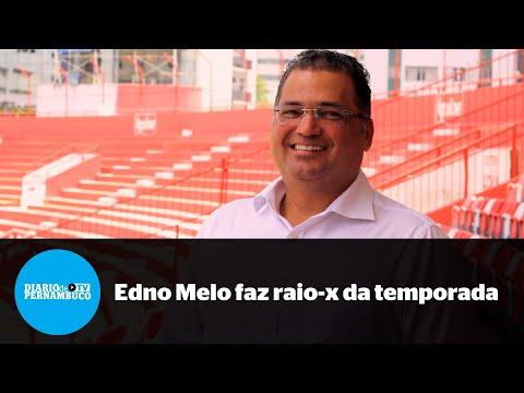 Pandemia e permanência na Série B: Edno Melo passa a limpo temporada do Náutico