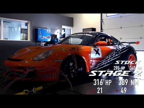 Porsche Cayman 3.4i Stage 2 By BR-Performance