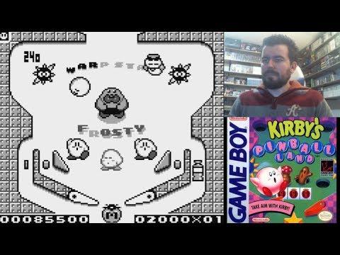 KIRBY´S PINBALL LAND (Game Boy) - El pinball de Kirby para portátil || Gameplay en Español