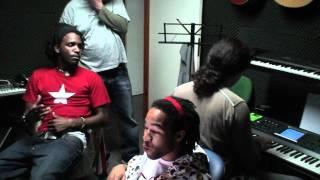 Sessões de estúdio - MPLA com Bob Da Rage Sense, Laton & PB