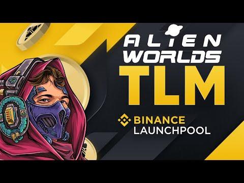 Alienworlds news! Binance listing! Trilium is now in binance launch pool!