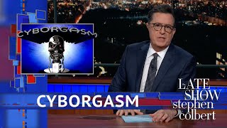 Stephen Colbert's Cyborgasm: CES 2019 width=