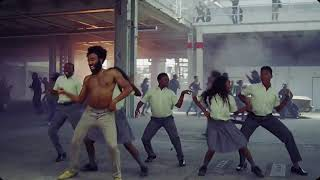 This is America, but it's Michael Jackson's Don't stop 'til you get enough