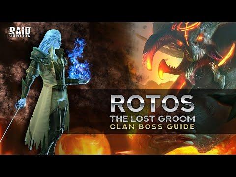 Rotos the Lost Groom vs Clan Boss + New UNM Team Meta I Raid Shadow Legends
