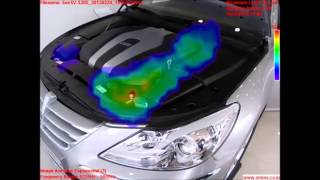 Engine Cover Effect - Video by Sound Camera
