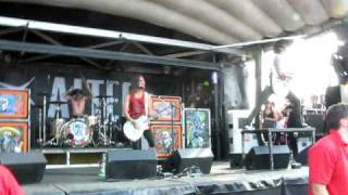 Pierce The Veil - The Boy Who Could Fly (Live at Edmonton Warped Tour August 5th 2010)