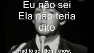 The Beatles - Yesterday (tradução)