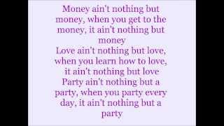 Miley Cyrus - Love Money Party (feat. Big Sean) Lyrics