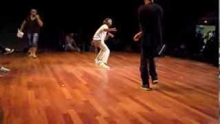 Hip Hop Session 2013 Battle qualif Top Rock - Madak vs Phantum
