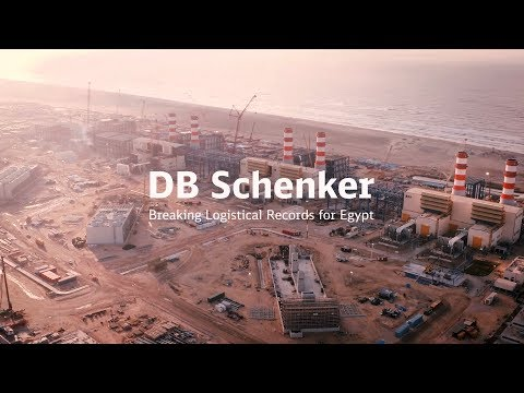 DB Schenker transporting over 100,000 tons of power station components