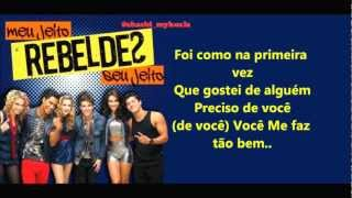 LETRA - Sonho Real - Rebeldes (CD 2)