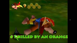 60 ways to die in Banjo-Kazooie