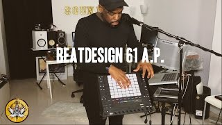 Live Performance Ableton Push 2  Trap beat improv (Beatdesign 61)