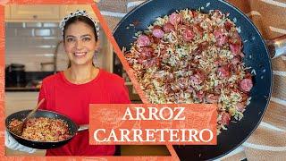 ARROZ CARRETEIRO PRONTO EM 10 MINUTOS | LUIZA ZAIDAN