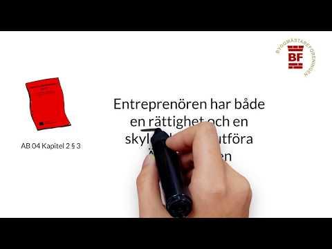 ÄTA-arbeten - Entreprenadjuridik för nybörjare, del 3