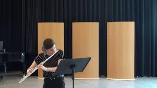 Andersen, Joachim: Etude No.3, Op. 15. Ester Esteban Solana