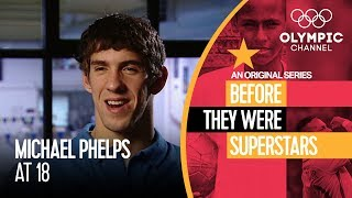 When Michael Phelps Was Just a Teenager   Before They Were Superstars
