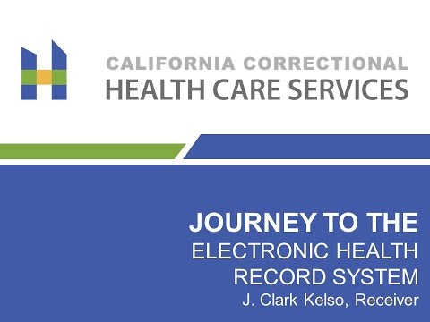 GTI2017 SEP Journey to the Electronic Health Record System - Correctional Health Care