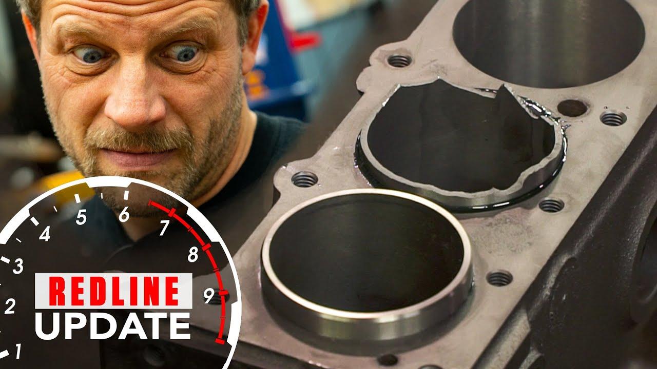 Redline Update: Buick straight-eight gets new sleeves