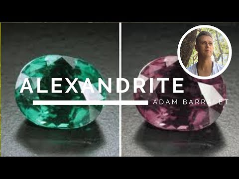 Alexandrite - The Crystal of the Wise Lover