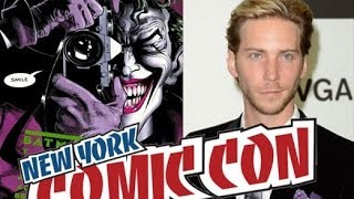 Troy Baker Recites The Killing Joke's Tunnel of Love Monologue | NYCC 2013 | Batman: Arkham Origins