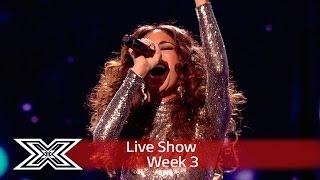 Nicole Scherzinger's diva mash-up! | Live Shows Week 3 | The X Factor UK 2016