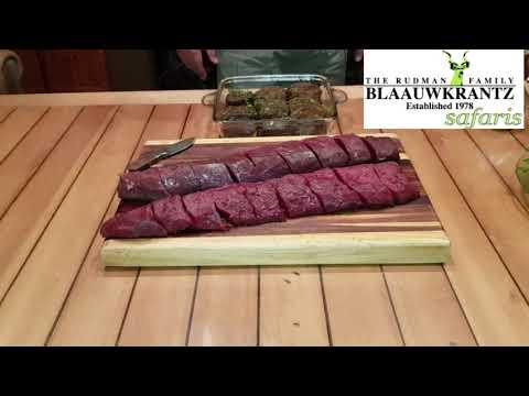 Blaauwkrantz impala back-strap or sirloin on the braai