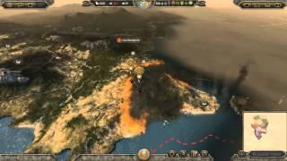Cuervos Nucleares - Visigodos toman Constantinopla Attila Total War