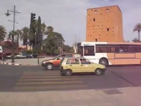 City Tour in One Minute: Marrakech, Morocco