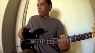 """Hungry Eyes"" (Eric Carmen) Bass Cover"