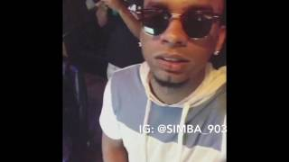 BFG Xx Young Simba [Studio Session/ Video Shoot]