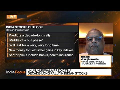 Billionaire Jhunjhunwala 'Bullish' on India Stocks, Plans Budget Carrier