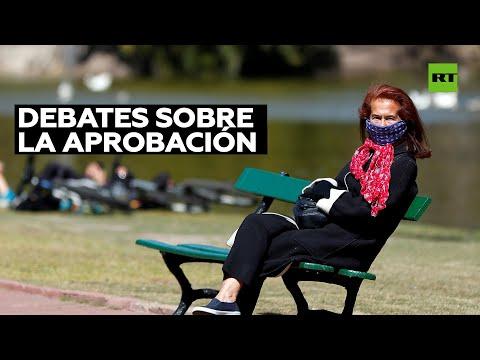 Marcha por la vida en vísperas del debate de la ley de aborto en el Congreso argentino