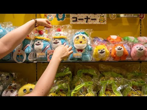 Mascotes para todos os gostos no Japão