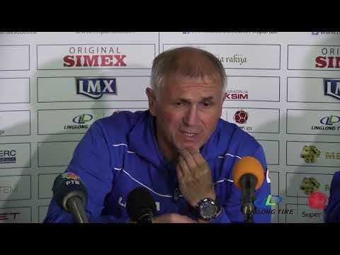 Linglong Tire Super liga 2019/20 - 9.Kolo: Izjave trenera nakon meča SPARTAK ŽK – JAVOR MATIS