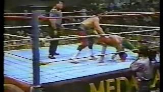 WWC: Debut de Ray González (1991)